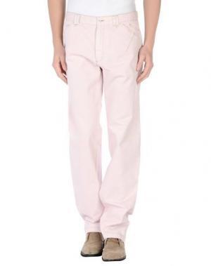 Повседневные брюки BERRY & BRIAN. Цвет: светло-розовый