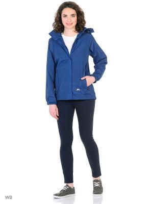 Куртка Trespass. Цвет: темно-синий