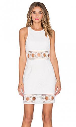Платье kaelyn SAYLOR. Цвет: белый