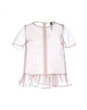 Блузка NORA BARTH. Цвет: телесный