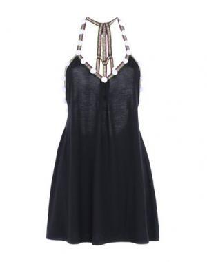 Пляжное платье PITUSA. Цвет: черный