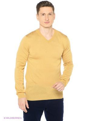 Пуловер Modis. Цвет: бежевый, золотистый