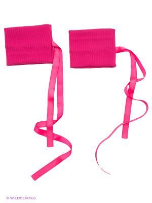 Гетры EMDI. Цвет: розовый