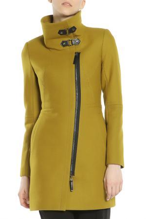 Пальто Анора. Цвет: оливковый