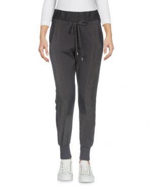 Повседневные брюки CREA CONCEPT. Цвет: свинцово-серый