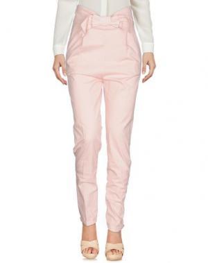 Повседневные брюки GIORGIA & JOHNS. Цвет: розовый
