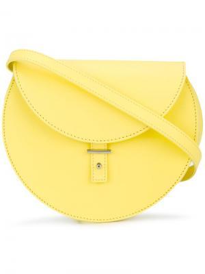 Круглая сумка через плечо Pb 0110. Цвет: жёлтый и оранжевый