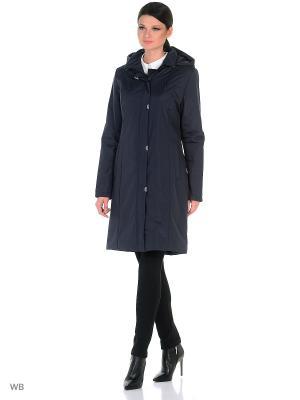 Пальто NANNA Maritta. Цвет: синий