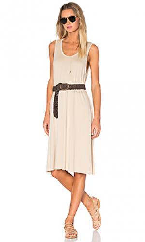 Платье-майка wocstate American Vintage. Цвет: беж