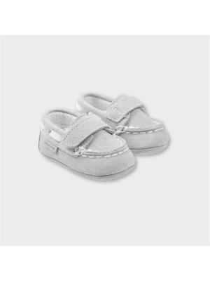 Туфли-мокасины Tutto Piccolo. Цвет: серый