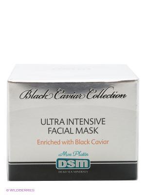 Увлажняющая маска Black Caviar Collection, 50 мл Mon Platin DSM. Цвет: серебристый
