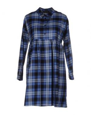 Короткое платье TRY ME. Цвет: синий