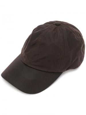 Wax Sports cap Barbour. Цвет: коричневый
