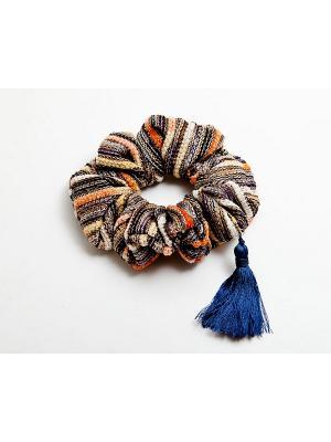 Заколка Kameo-bis. Цвет: синий, серый, оранжевый