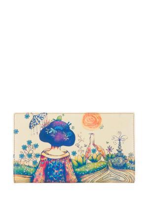 Кошелек Bagsberry. Цвет: бежевый