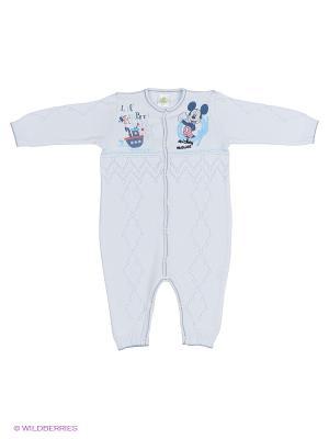Комбинезон Linas Baby. Цвет: голубой
