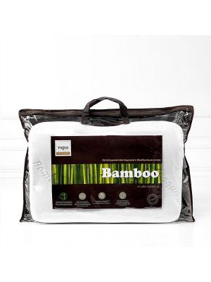 Подушка ортопедическая с Бамбуковым углем TOGAS. Цвет: белый