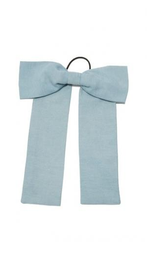 Резинка для волос с бантом из ткани шамбре Namrata Joshipura