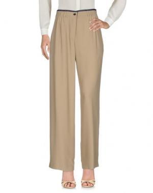 Повседневные брюки BALLANTYNE. Цвет: песочный
