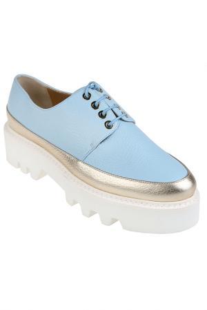 Ботинки Walter Steiger. Цвет: голубой