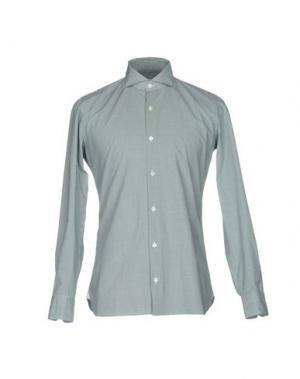 Pубашка GIAMPAOLO. Цвет: зеленый