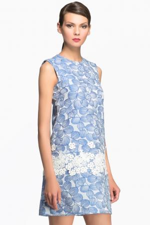 Платье 148315 Yanina. Цвет: синий