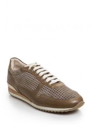 Кроссовки 162949 Franceschetti. Цвет: коричневый