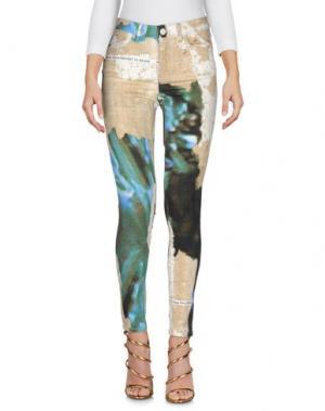 Джинсовые брюки ACNE STUDIOS. Цвет: бежевый