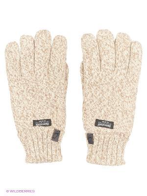 Перчатки повседневные Catmandoo. Цвет: бежевый