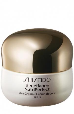 Дневной крем Benefiance NutriPerfect Shiseido. Цвет: бесцветный