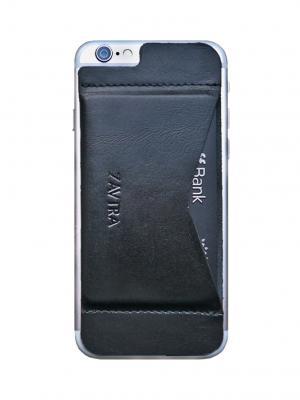 Кошелек-накладка для iPhone 6/6s ZAVTRA. Цвет: черный