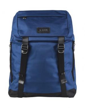 Рюкзаки и сумки на пояс INVICTA. Цвет: синий