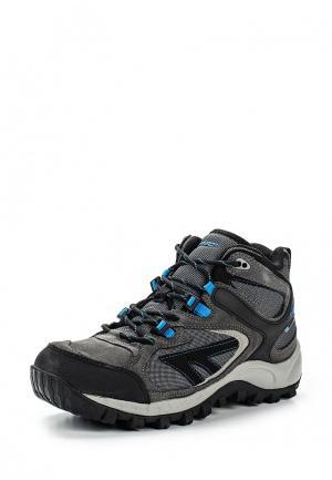 Ботинки трекинговые Hi-Tec. Цвет: серый