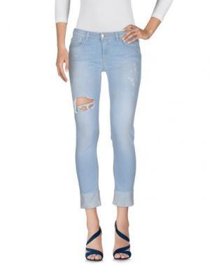 Джинсовые брюки KOCCA. Цвет: синий