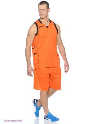 Шорты BASKET Joma. Цвет: оранжевый