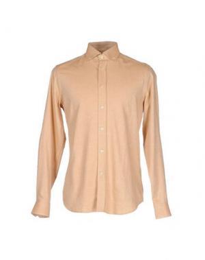 Pубашка JECKERSON. Цвет: бежевый