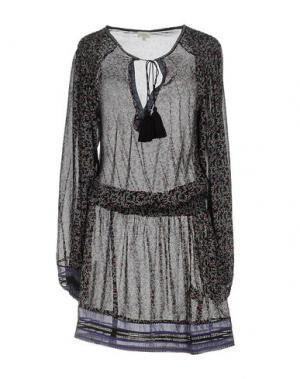 Платье до колена TALITHA. Цвет: черный