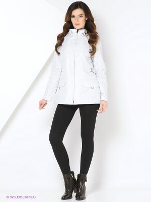 Куртка WILMA Maritta. Цвет: светло-серый