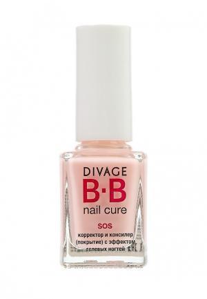 Средство по уходу за ногтями Divage. Цвет: розовый