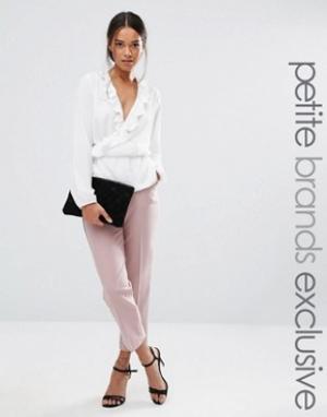Alter Petite Пижамный комплект с прямыми брюками. Цвет: розовый
