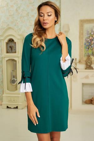 Платье Vittoria Vicci. Цвет: темно-зеленый