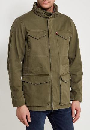 Куртка джинсовая Levis® Levi's®. Цвет: хаки