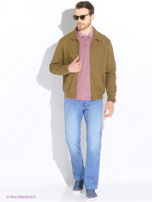 Куртка Wrangler. Цвет: хаки