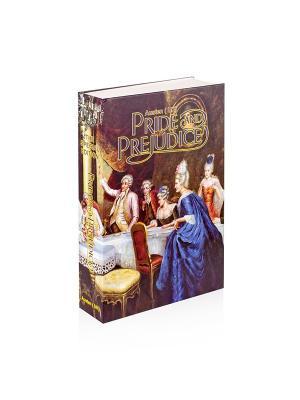 Сейф-книга Гордость и предубеждение Aztek. Цвет: коричневый