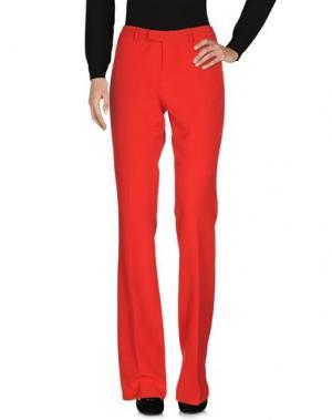 Повседневные брюки LADY CHOCOPIE. Цвет: красный