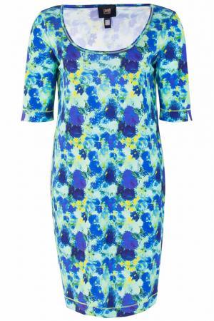Платье Class Cavalli. Цвет: синий