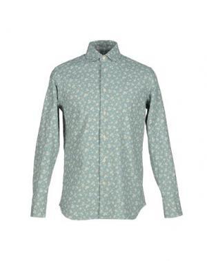 Pубашка ALAIN FRACASSÍ. Цвет: бирюзовый