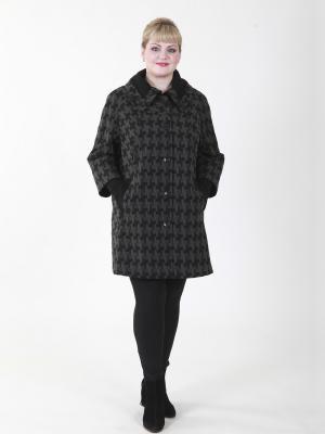 Пальто Франческа VIKO. Цвет: серый, черный
