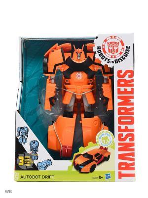 Трансформеры Роботс-ин-Дисгайс Гиперчэндж Transformers. Цвет: черный, оранжевый