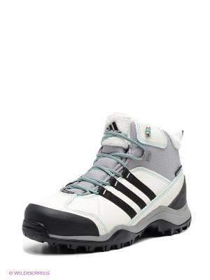 Ботинки CH WINTERHIKER II CP W Adidas. Цвет: серый, белый